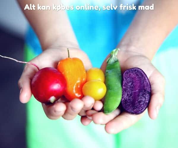 Alt kan købes online, selv frisk mad